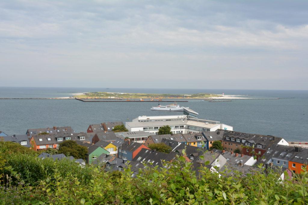 Utsikt mot hamnen